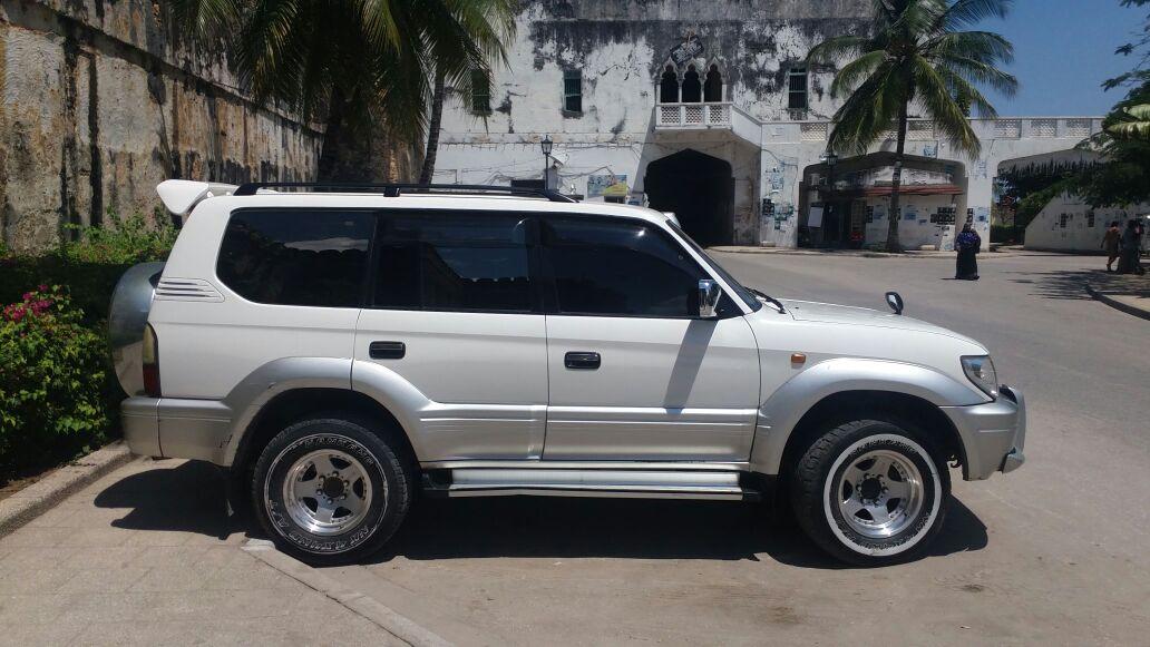 Toyota Land Cruiser Prado Kibabu Cars Zanzibar